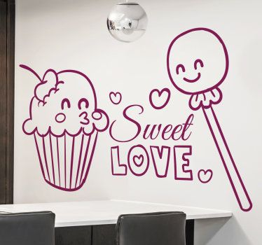 Put your love more sweet with this sticker! #sweetlove #love #decoration