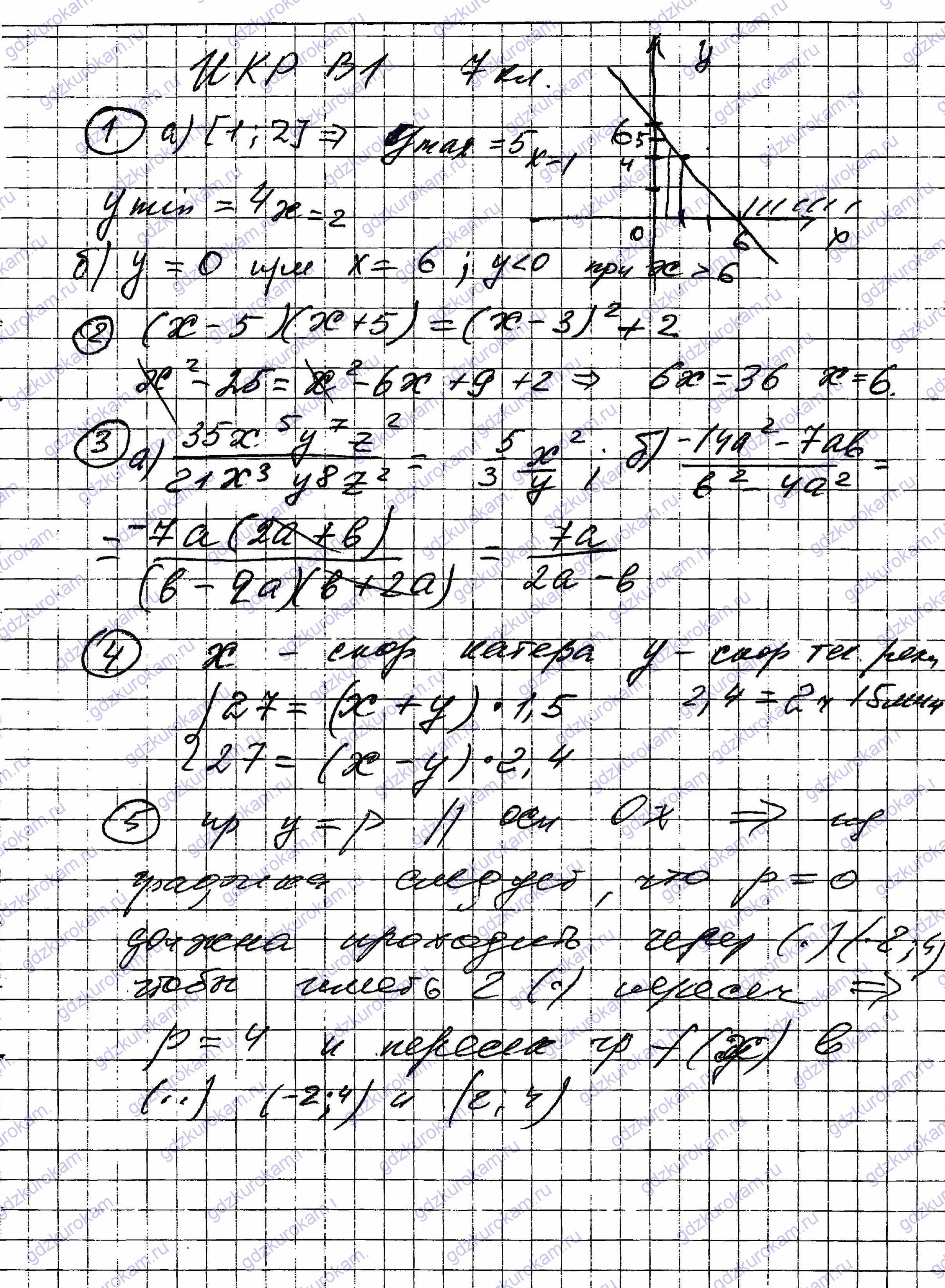 Итоговая работа по русскому языку в первом полугодие 2 класс по программе канакиной