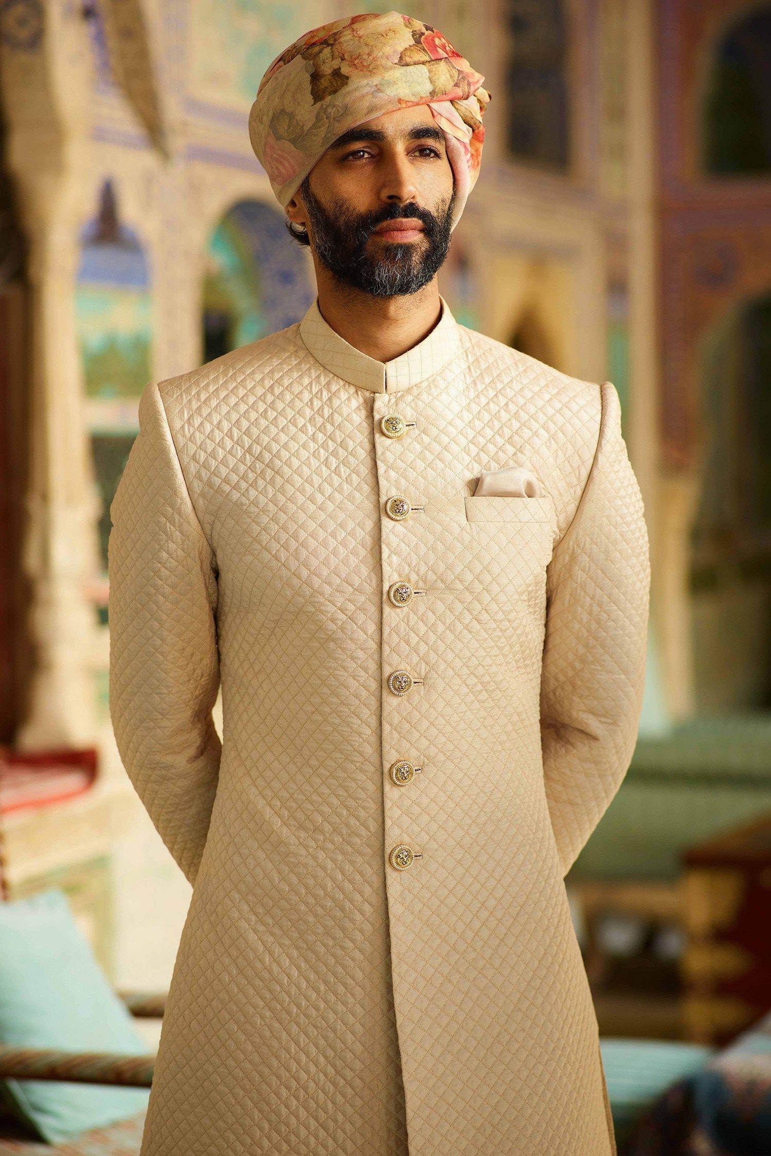 What Does Sabyasachi Menswear Sherwani Cost Frugal2fab Wedding Dresses Men Indian Groom Dress Men Indian Groom Wear [ 2250 x 1500 Pixel ]