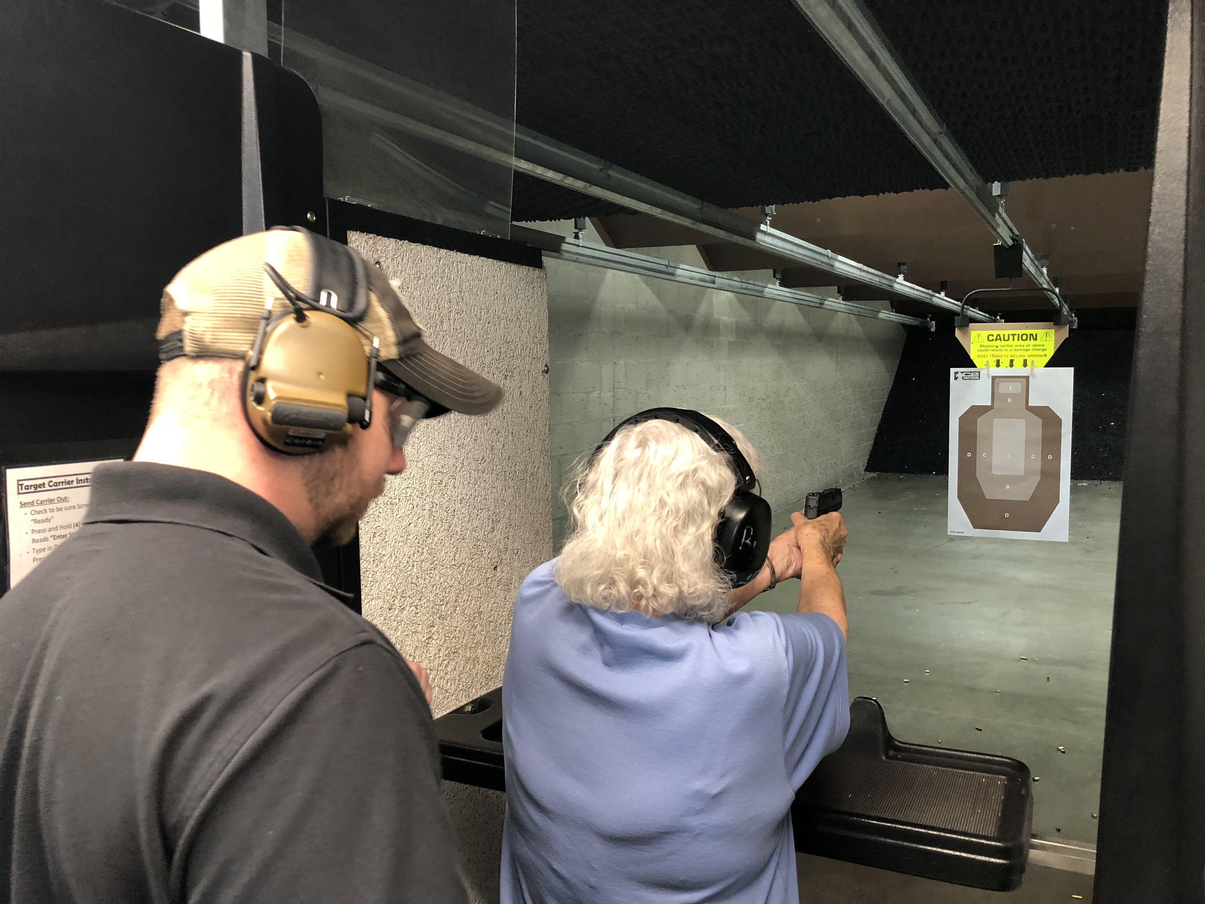 Voted Best Indoor Range in Arizona Safety classes, Guns