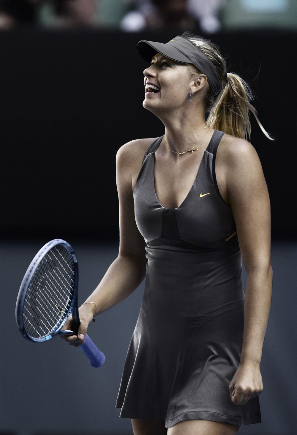 Nike Tennis 2012 US Open Collection Maria Sharapova - Outfit swap and retouching by Splash ...