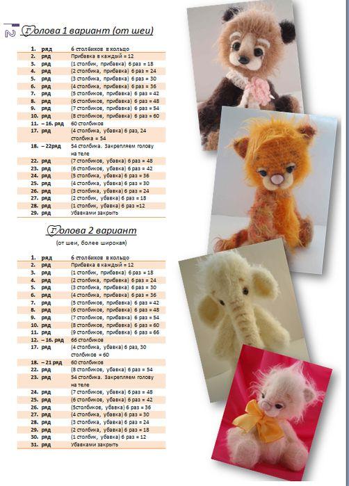Вязаные Игрушки Крючком Со Схемами И Описанием Фото Для Начинающих