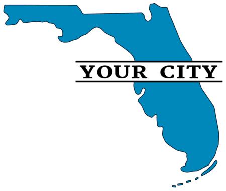 Florida Map Outline Printable State Shape Stencil Pattern Map Of Florida Map Outline Cricut Free