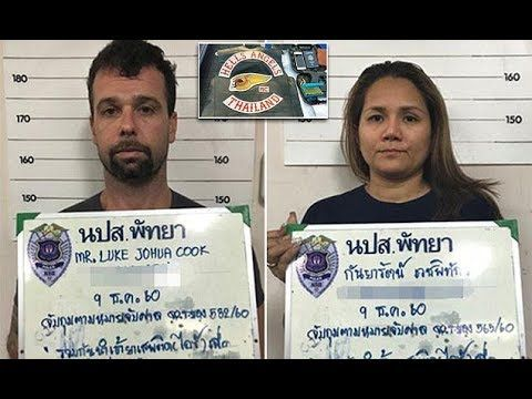 Feared Hells Angels bikie and Thai wife arrested for drugs | Ha