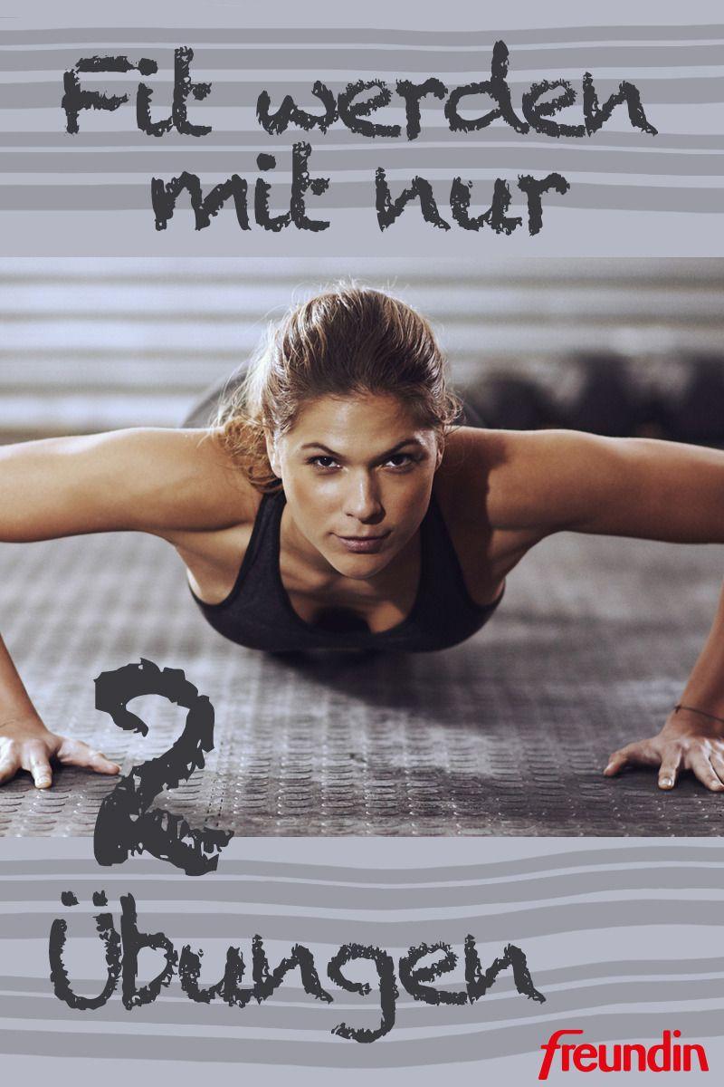 Fit werden mit nur zwei Übungen | Fitness workouts