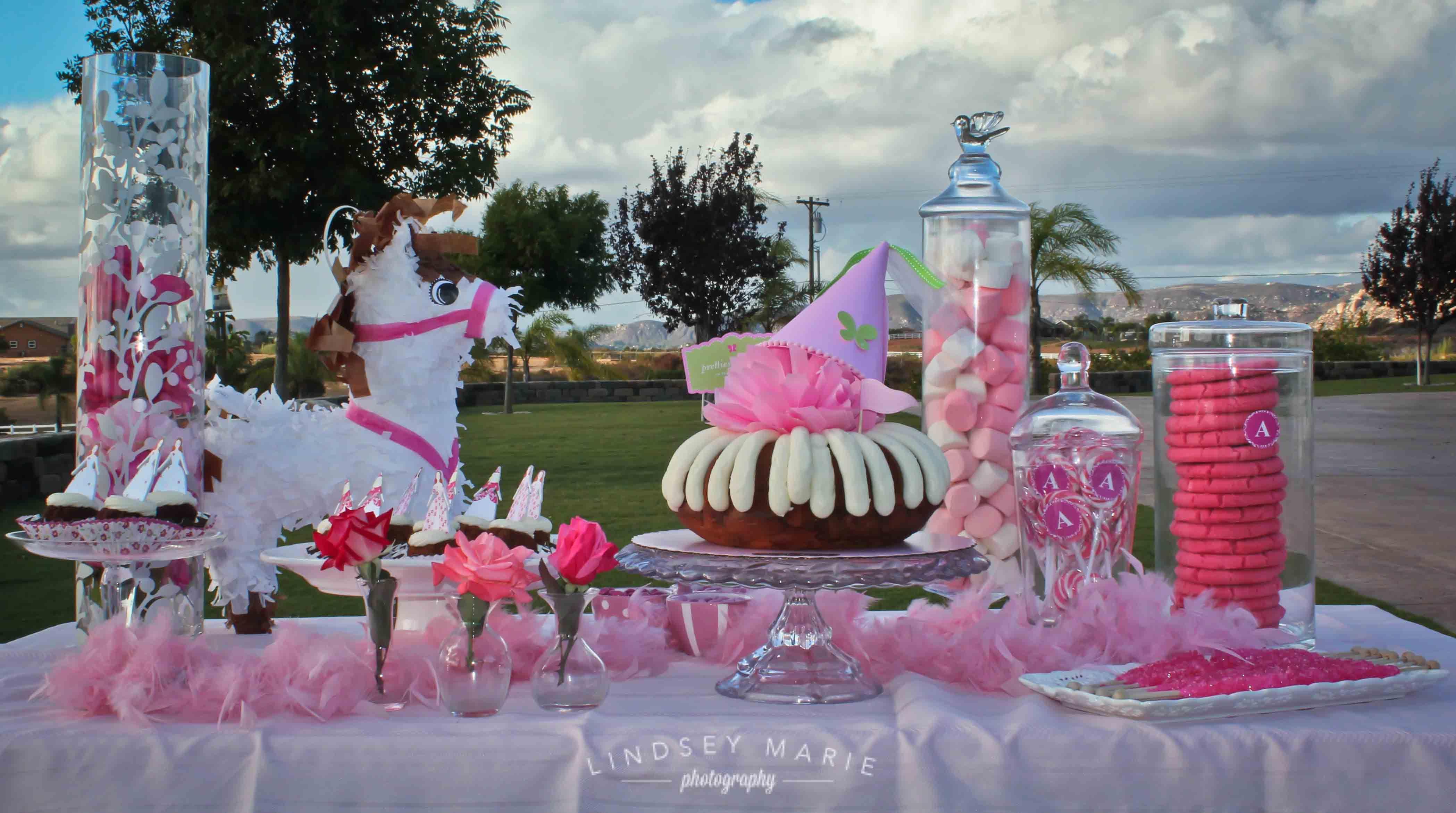 Nothing Bundt Cakes Princess Party Adorable Birthday Bundts - Bundt birthday cake