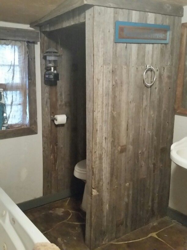 Bathroom Decor Outhouse