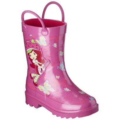 69f0684cd Toddler Girl's Strawberry Shortcake Rain Boot - Pink at #target ...