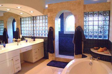 master bath schooner - mediterranean - bathroom - austin