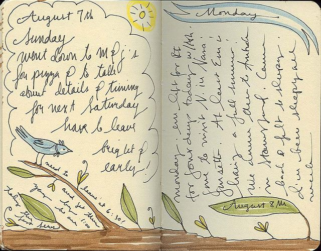 so simple and refreshing @melissamh #art #journal