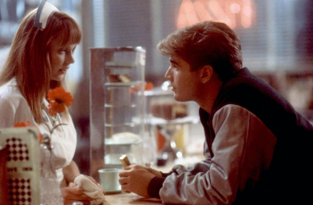 Danny Hassel and Lisa Wilcox in A Nightmare on Elm Street 4: The ...
