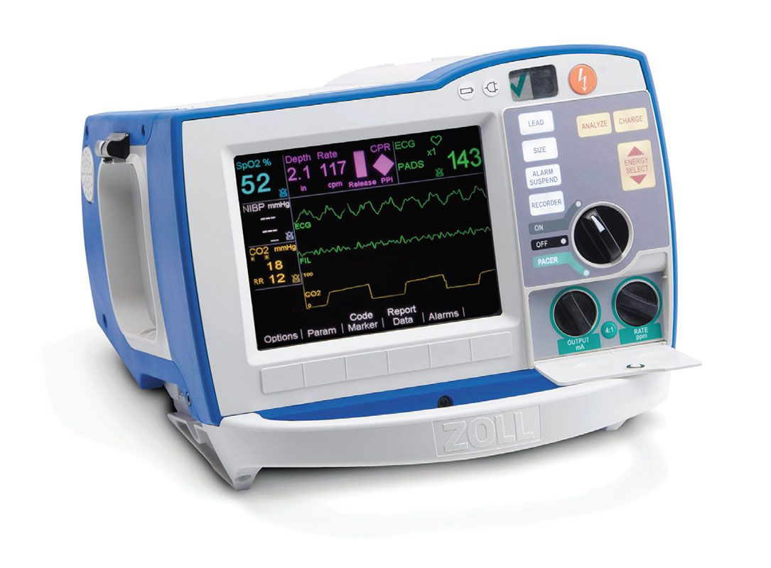 zoll r series plus monitor defibrillator 7003. Black Bedroom Furniture Sets. Home Design Ideas