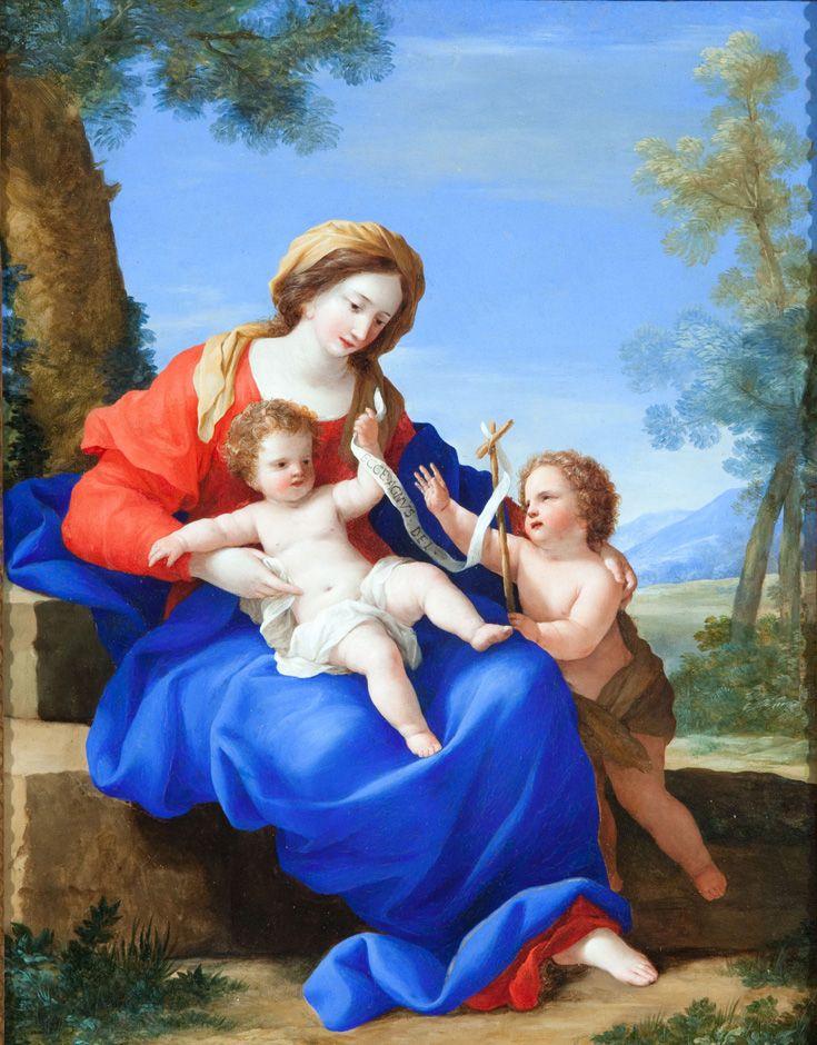 La virgen con el nio y san juanito giovanni francesco romanelli la virgen con el nio y san juanito giovanni francesco romanelli 1610 1662 publicscrutiny Gallery