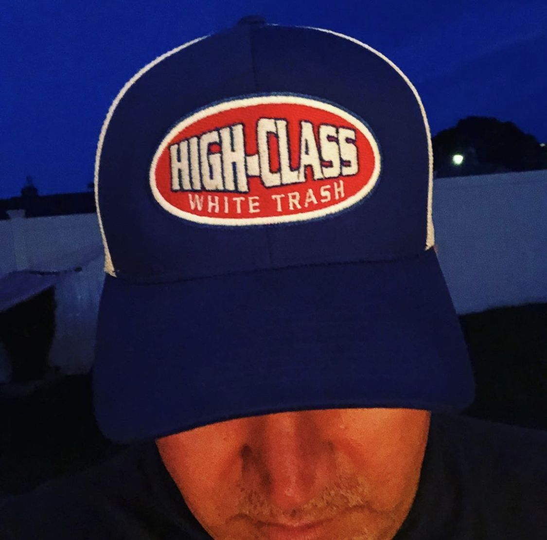 High Class White Trash Trucker Hat. New High Class White Trash snap back Trucker hats are in the works. These hats are going to have a custom woven patch and be of highest quality. #highclasswhitetrash #clothing #apparel #truckerhats #hats #highclasswhitetrashingclothing #redneck #rednecks #rebel #country
