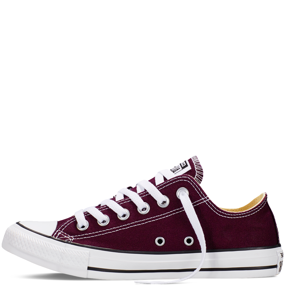 f7929b2b7336 Converse - CT All Star Fresh Low Canvas Sneakers (Big Kid) - Black Cherry