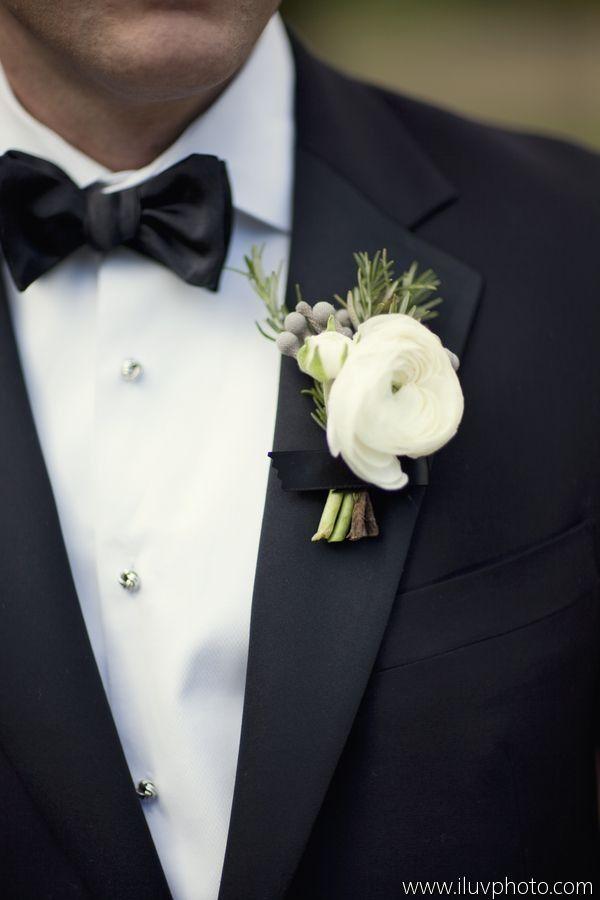 Anstecker Brautigam Hochzeit Ranunkeln Bouquets Flower