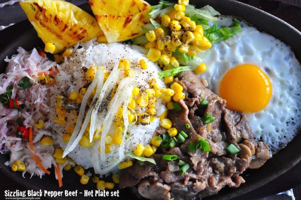 Sizzling Black Pepper Beef - Hot Plate Recipe http\/\/www - schnelle k che warm