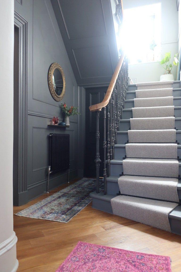 1930s hallway decorating ideas Stair and hallway makeover reveal  Hallways  Pinterest  Hall