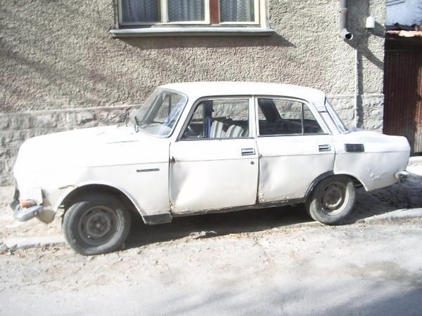 A very typical Bulgarian car