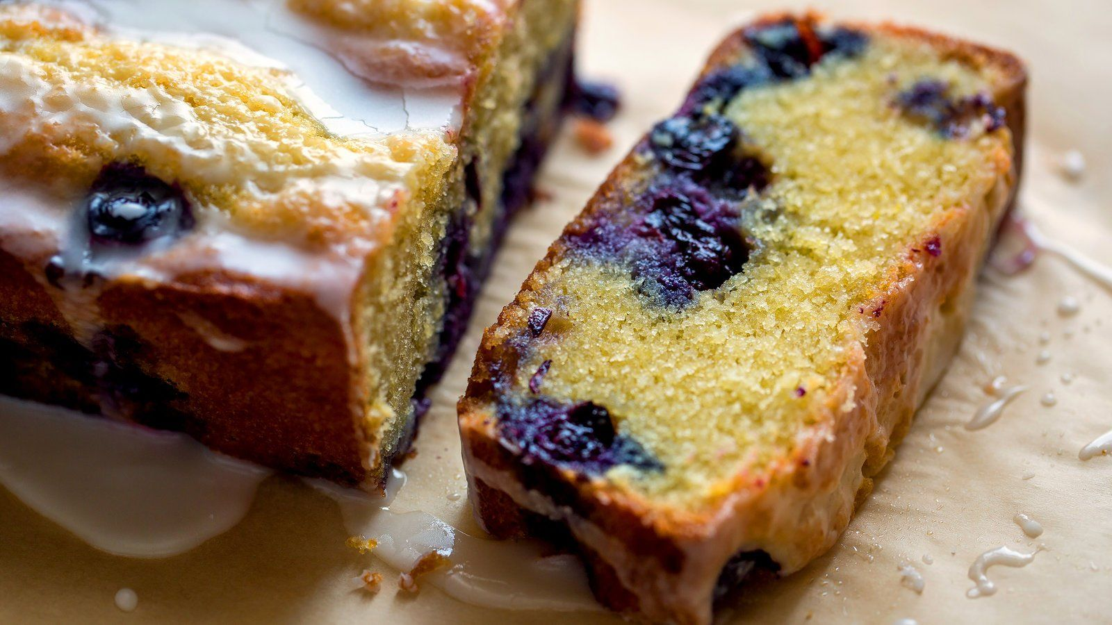 Blueberry almond and lemon cake recipe with images