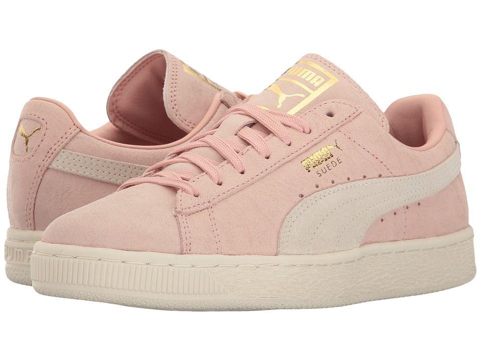 Puma suede, Coral shoes, Suede
