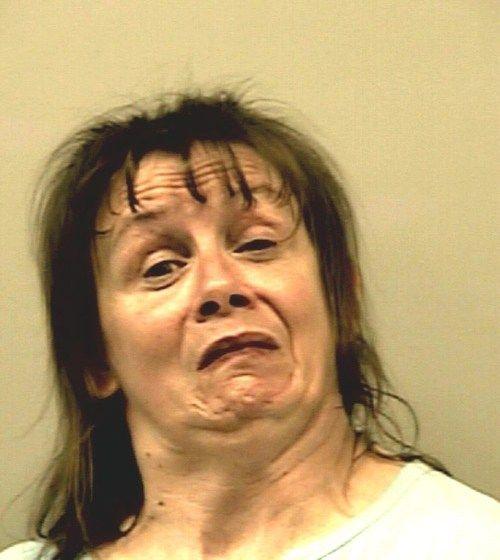 Ugly Woman Face Funny Mug Shots Vol II...
