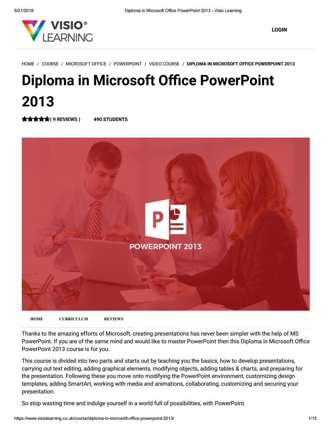 microsoft office 2013 tutorial ppt