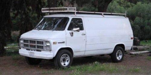Gmc Vandura Types Cargo Passenger Box Conversion Camper Gmc Vans Gmc Vans