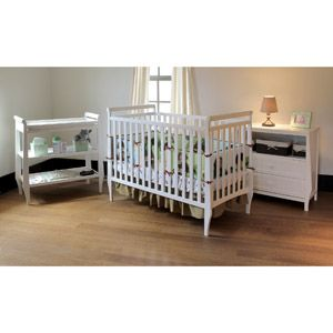 Summer Infant   Carrington Crib, Changing Table, And Dresser 3 PC Set, White
