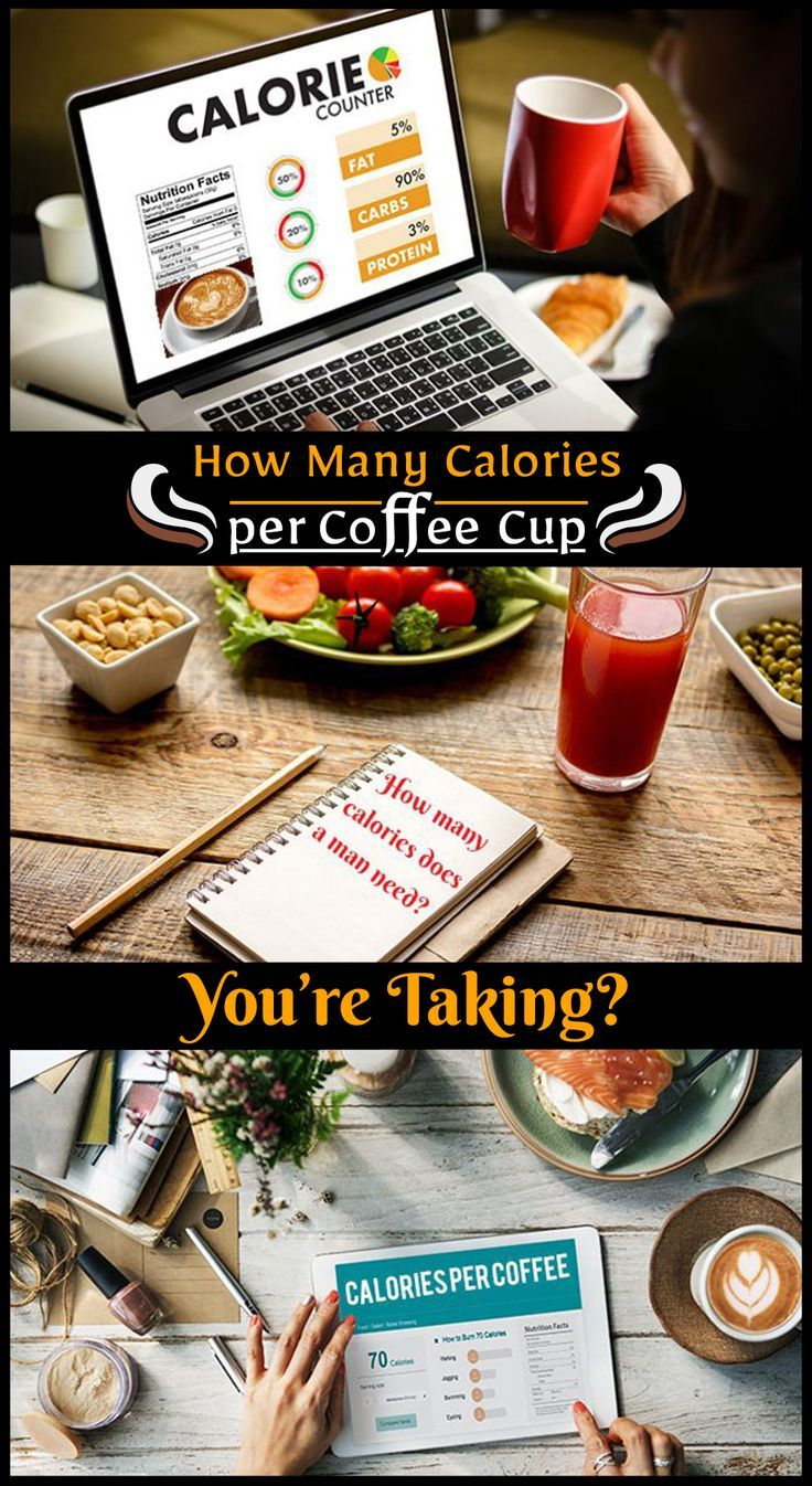 How Many Calories per Coffee Cup You're Taking? Coffee