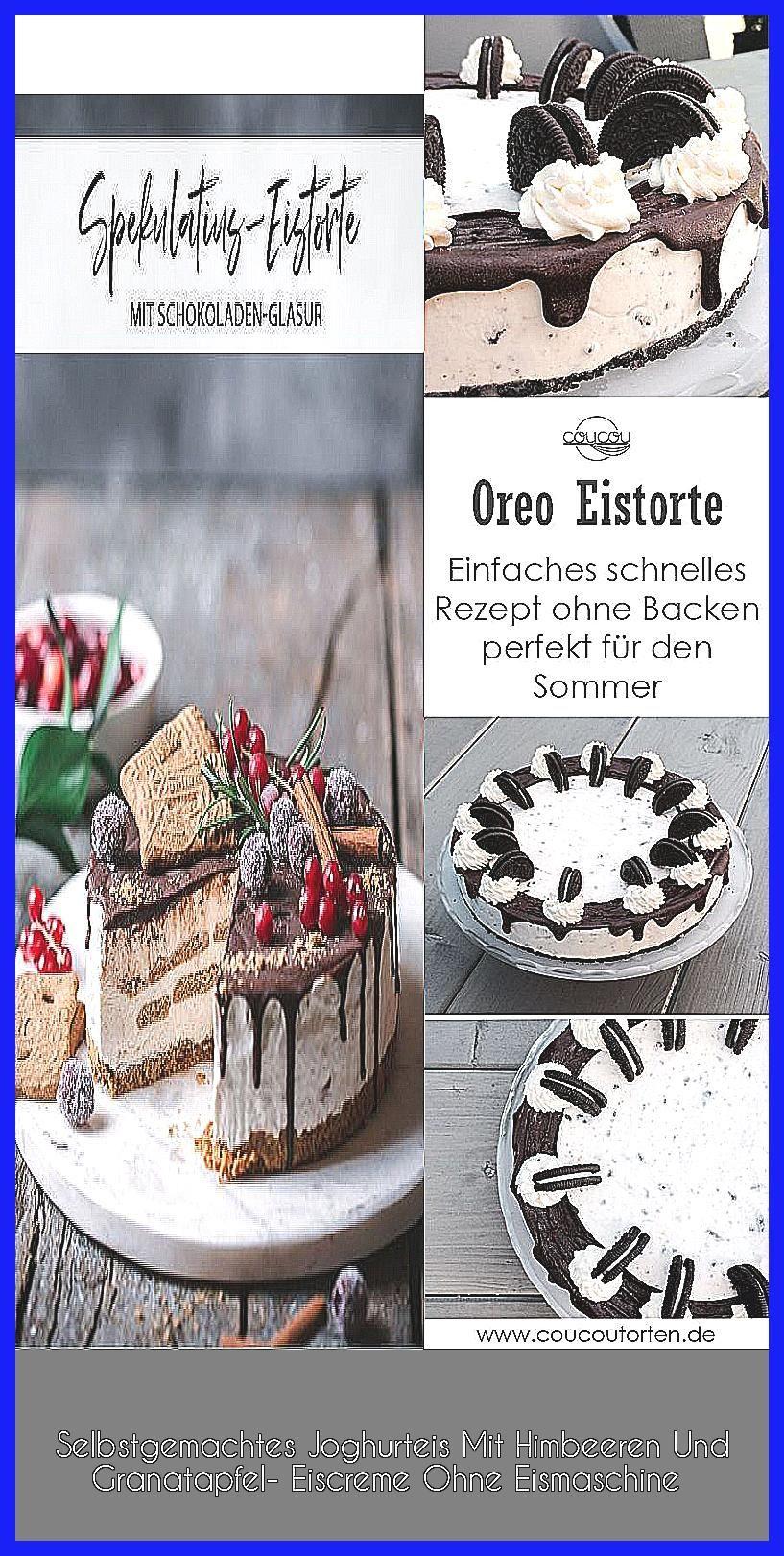 Photo of Selbstgemachtes Joghurteis Mit Himbeeren Und Granatapfel- Eiscreme Ohne Eismaschine