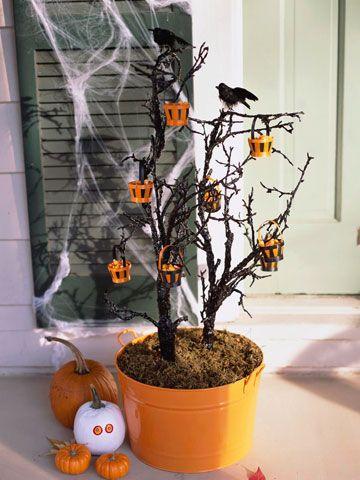 Home Spooky Home Easy Halloween Crafts Creepy halloween - fun and easy halloween decorations