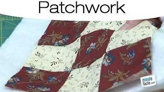 Collection Inédith - Bordure française pour courtepointe/patchwork - YouTube