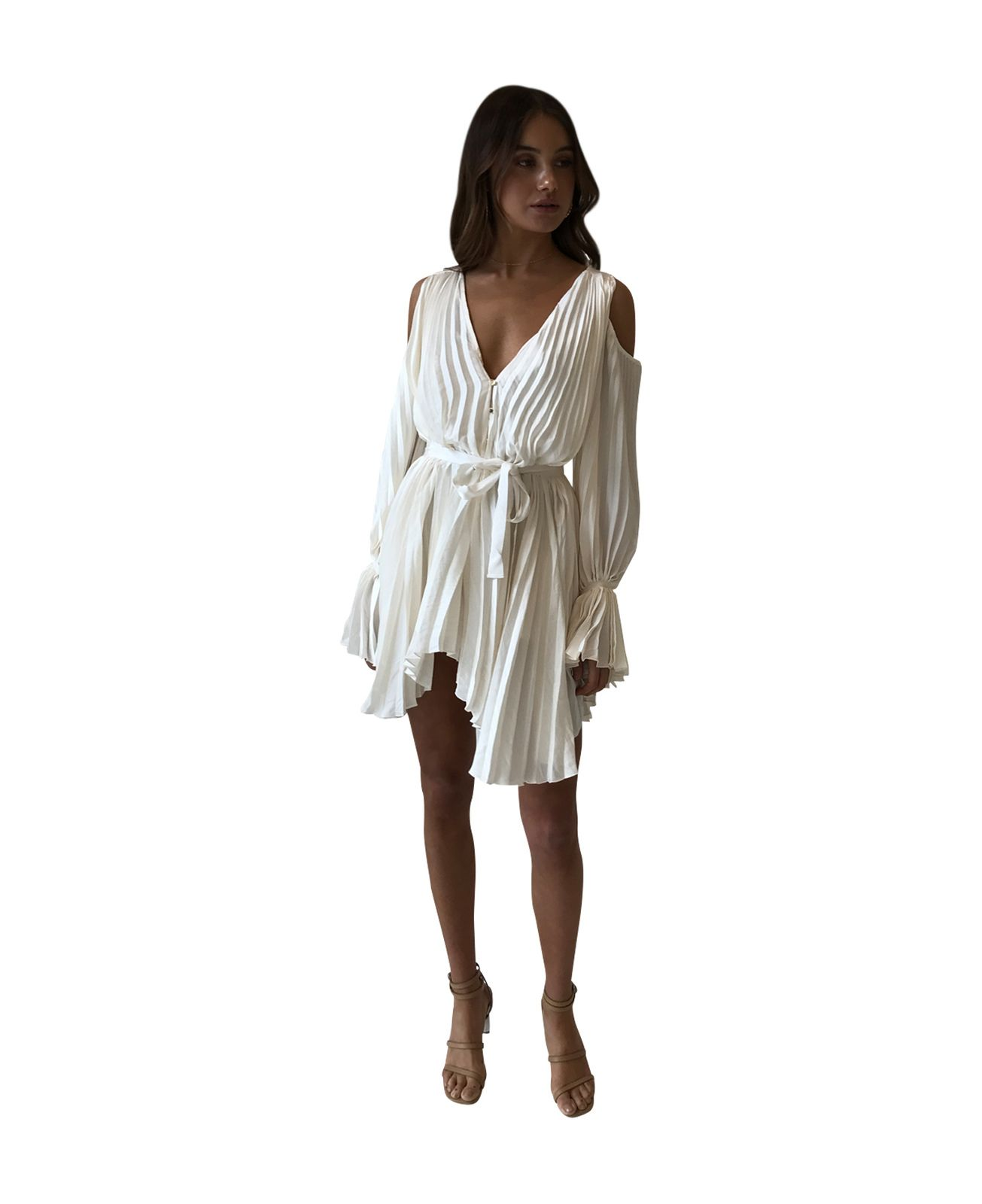 94a1eff86bc Alice McCall Sunkissed Playsuit in Creme - Alice McCall