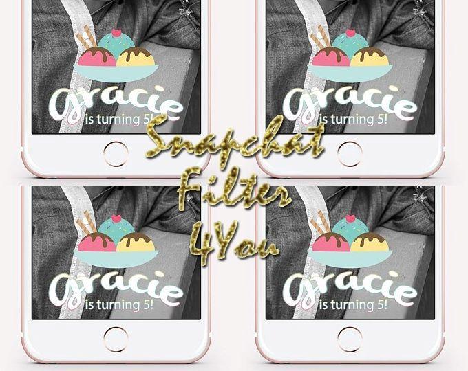 Snapchat geofilter help., Snapchat filter application
