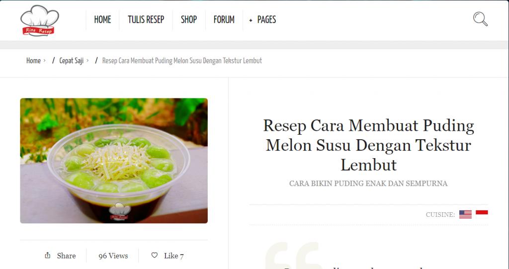 Resep Masakan Rinaresep Com Di 2020 Resep Masakan Resep Masakan