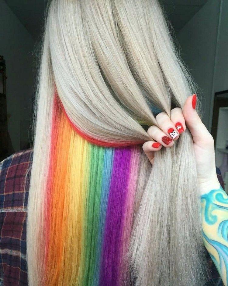 Buy Amazon Amzn To 31bcjok Versteckte Regenbogen Haare Farbkombinationen Und Styling Ideen Fr Den Coolen In 2020 Regenbogenhaare Haarfarben Versteckte Regenbogenhaare