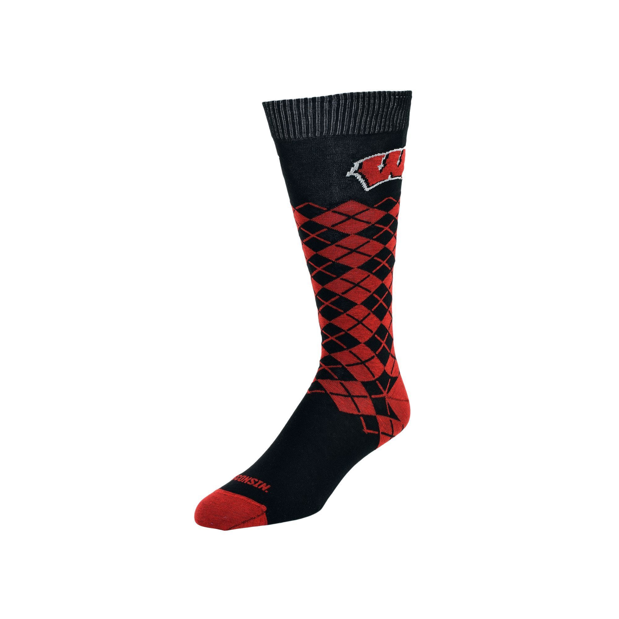168b16b51 Women s Mojo Wisconsin Badgers Argyle Socks