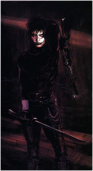 The Crow Crow Movie Crow Gothic Characters