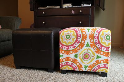 Stupendous New Ottoman Cover Completed Projects In 2019 Diy Bralicious Painted Fabric Chair Ideas Braliciousco