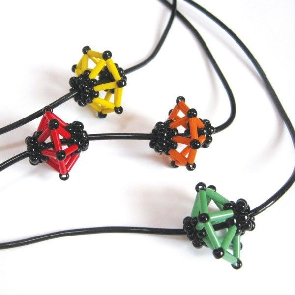Japanese lantern bead tutorial - Pinkhot Jewellery - Kits & Patterns
