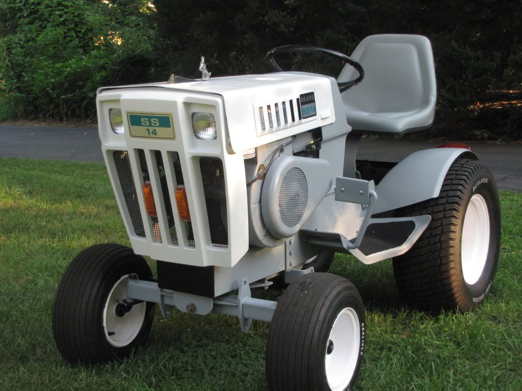 Sears Lawn And Garden Tractors : Sears ss tractor that i fully restored for my