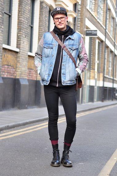 street style london men 39 s look asos fashion finder dr martens pinterest street style. Black Bedroom Furniture Sets. Home Design Ideas