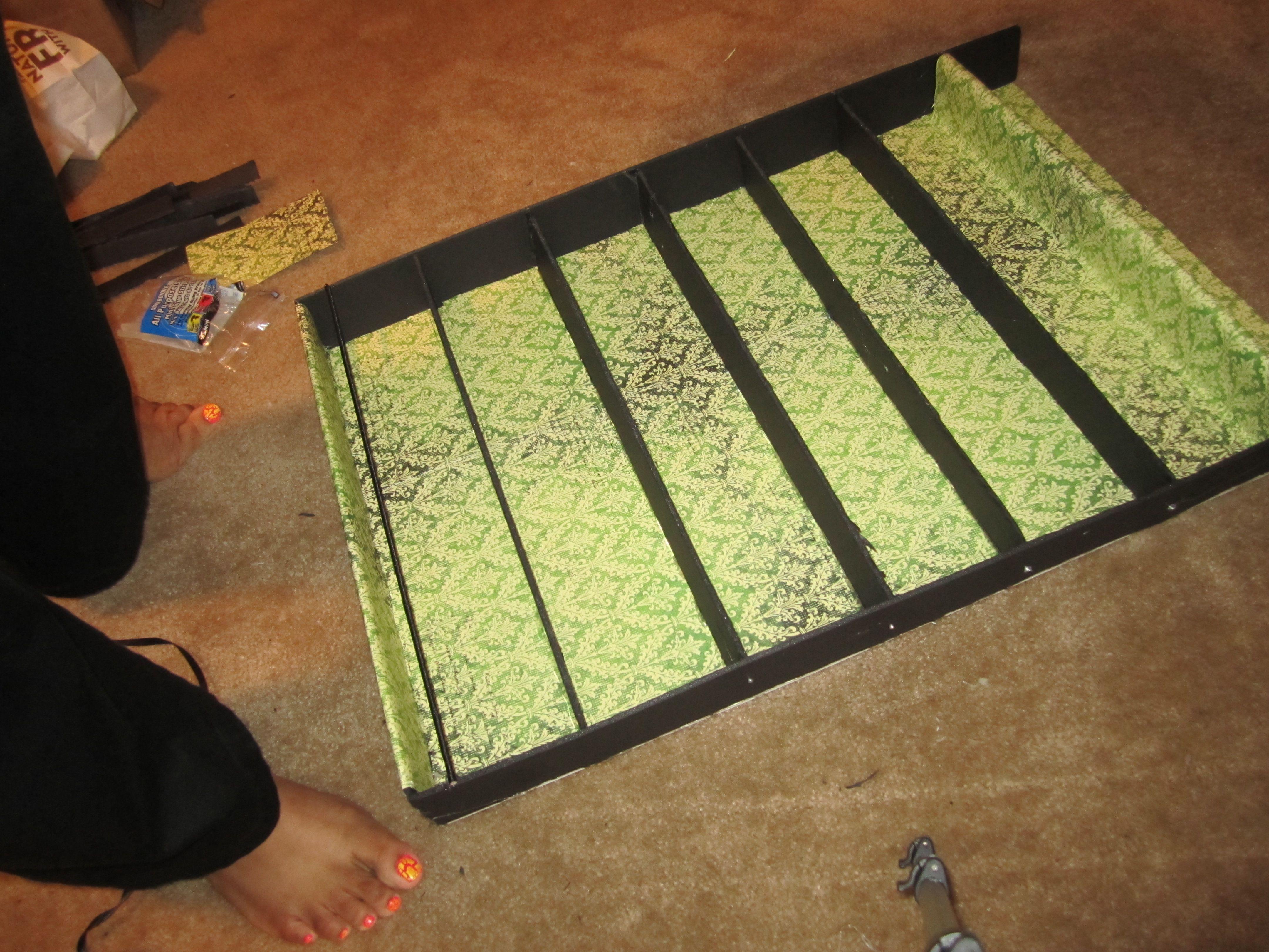 nail polish organizer | How to Build a Nail Polish Rack - DIY | The ...