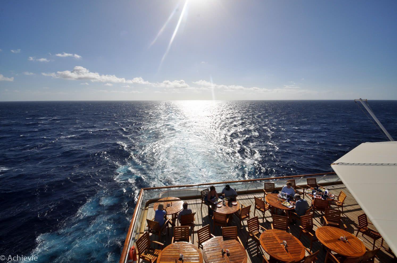Celebrity Cruise Constellation Buffet Restaurant Outside