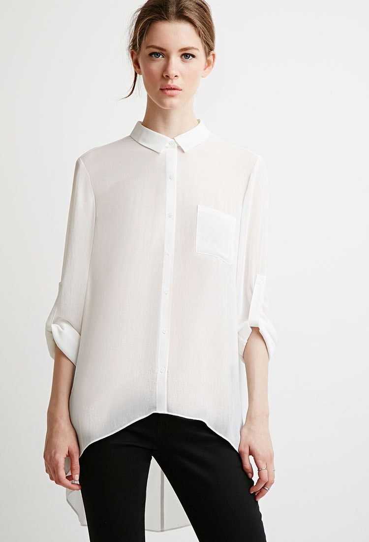 Camisa Crepé Bolsillo