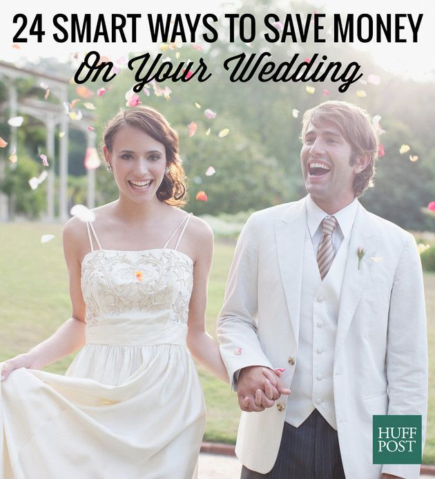 24 Smart Ways To Save Money On Your Wedding, According To