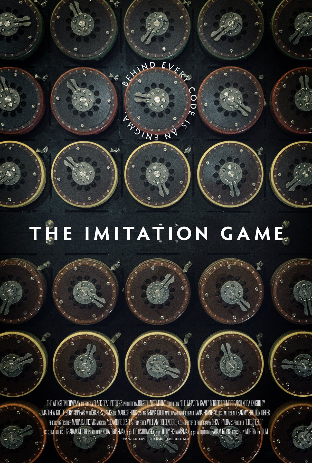 The Imitation Game 2014 HD Wallpaper From