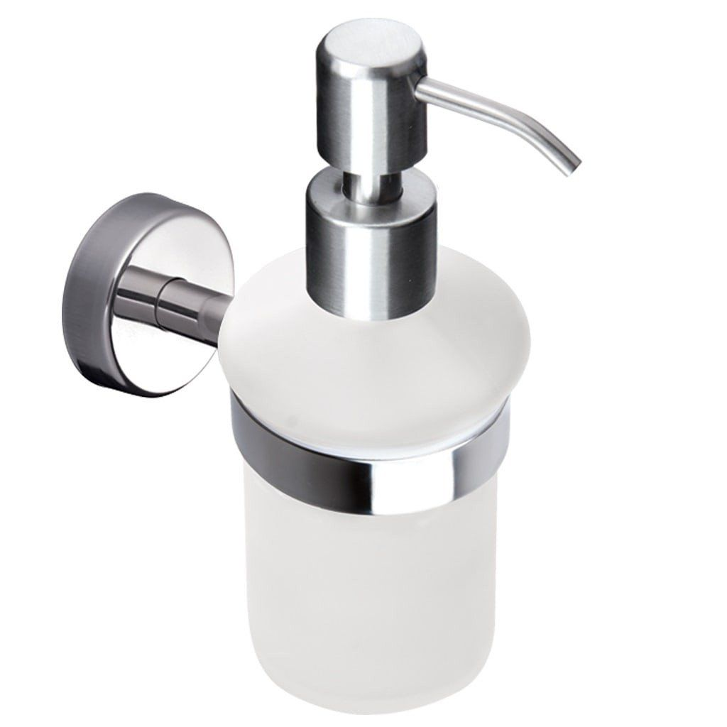 Kapitan Wall Mounted Soap Dispenser With Holder   Bath Accessories.co.uk