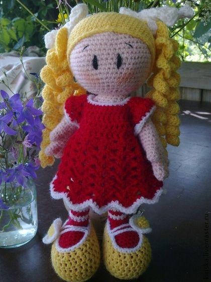 Человечки ручной работы. Ярмарка Мастеров - ручная работа Вязанная кукла.. Handmade.